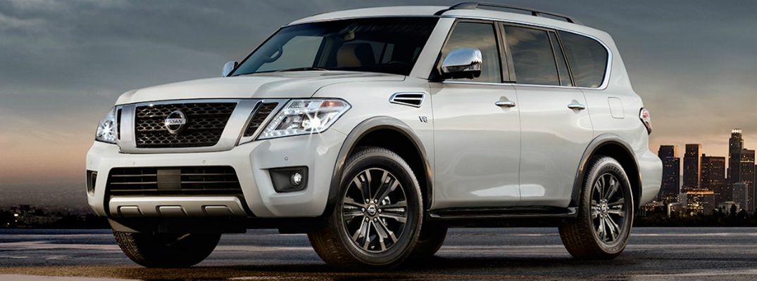 New Exterior Design of the 2017 Nissan Armada Exterior
