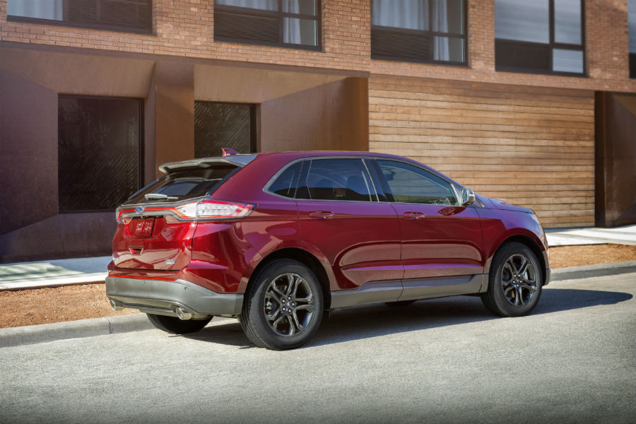 Ford Edge Rear Side Exterior_o