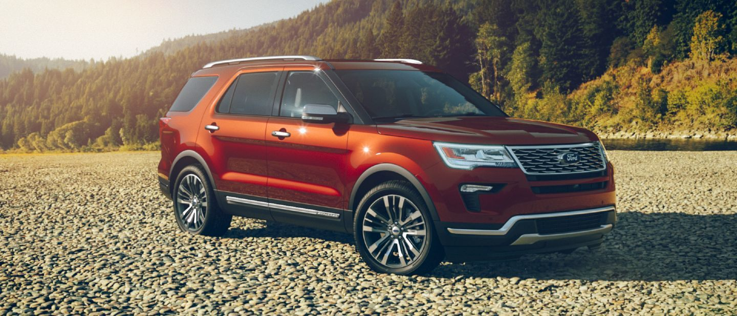 2018 ford explorer ruby red exterior color
