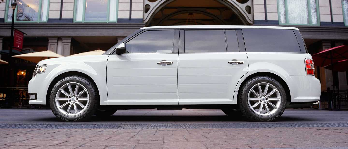 pictures of all nine 2018 ford flex exterior color options