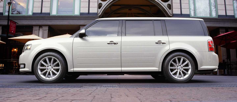 2018 ford flex white platinum exterior color