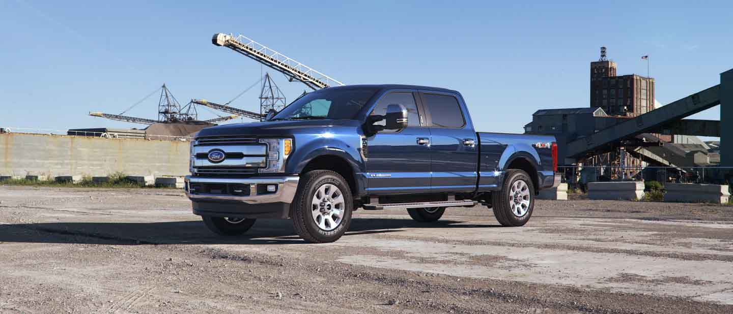 2018 Ford Super Duty Lineup Exterior Color Option Gallery