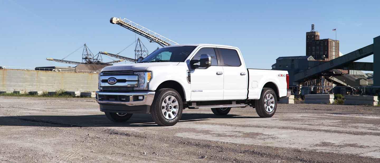 Ford Super Duty White Platinum Exterior Color