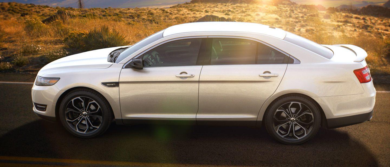 2018 Ford Taurus White Platinum Exterior Color