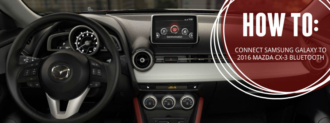 how to connect to bluetooth on mazda 3