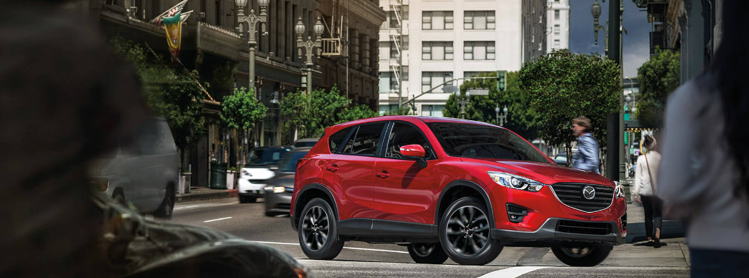 How many trims does the 2016 Mazda CX-5 come in?