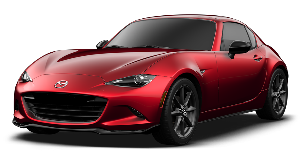 does the 2017 mazda mx-5 miata rf come with leather seats?