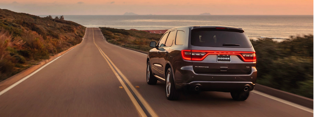 2015 Dodge Durango driving range