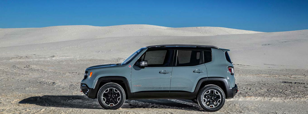 2015 Jeep Renegade four-wheel-drive systems