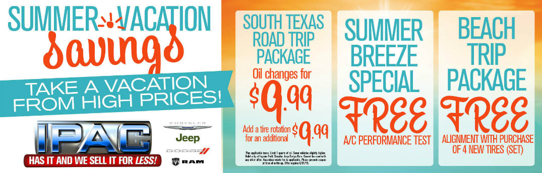 Summer car service coupons San Antonio, TX