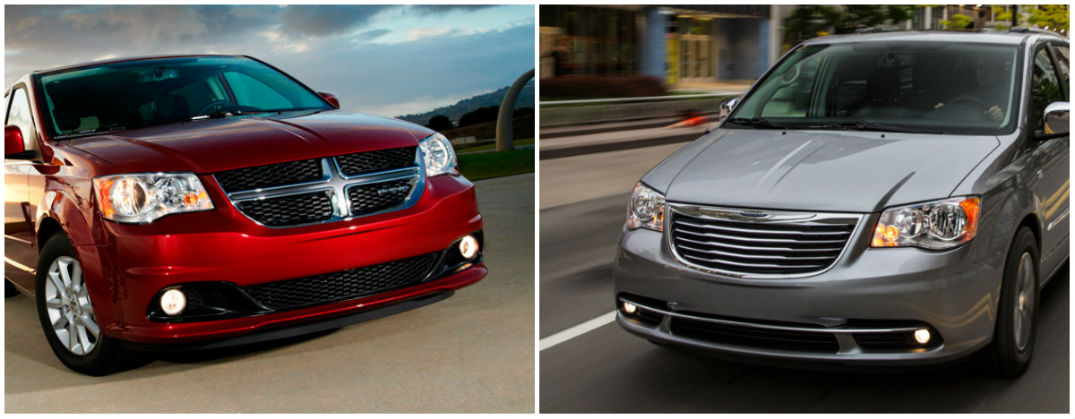 2015 Grand Caravan vs 2015 Town & Country