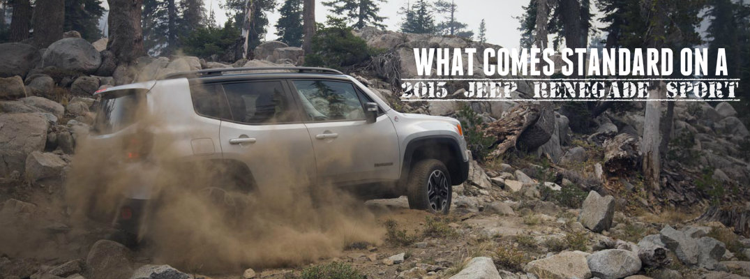 2015 Jeep Renegade engine specs and color options