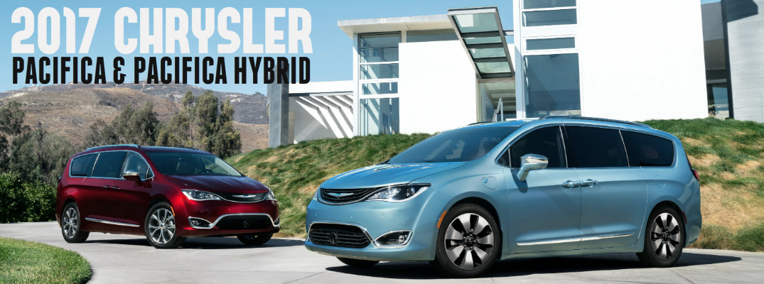 2017 Chrysler Pacifica and Pacifica Hybrid release date