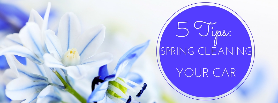5 Tips for spring cleaning your car