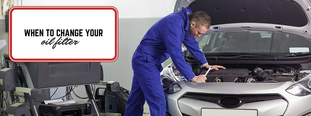 When to change your oil filter