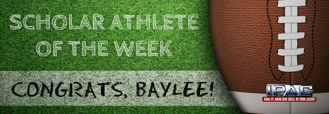 Baylee Quisenberry-IPAC Scholar Athlete of the Week