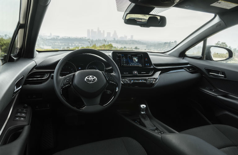 2018 Toyota C-HR steering wheel design