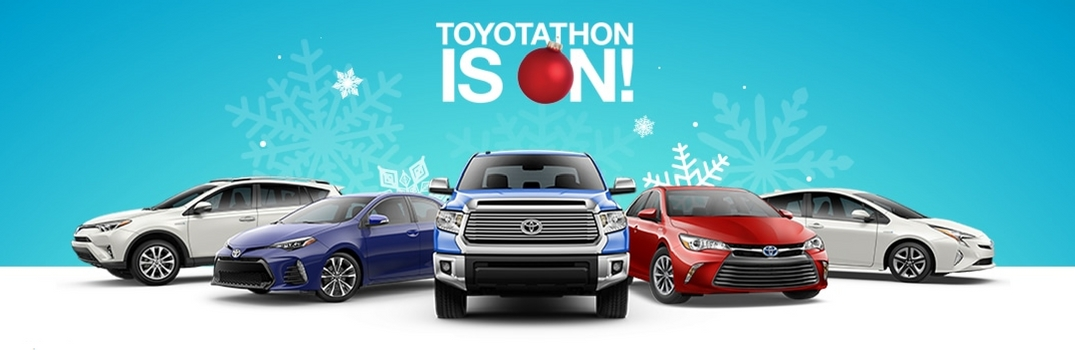 What Vehicles Are Included In The Toyotathon In Palo Alto