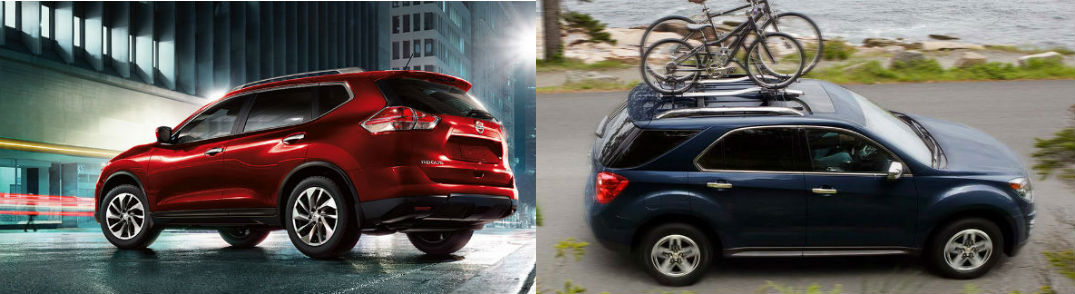 comparing the 2015 nissan rogue vs 2015 chevy equinox. Black Bedroom Furniture Sets. Home Design Ideas