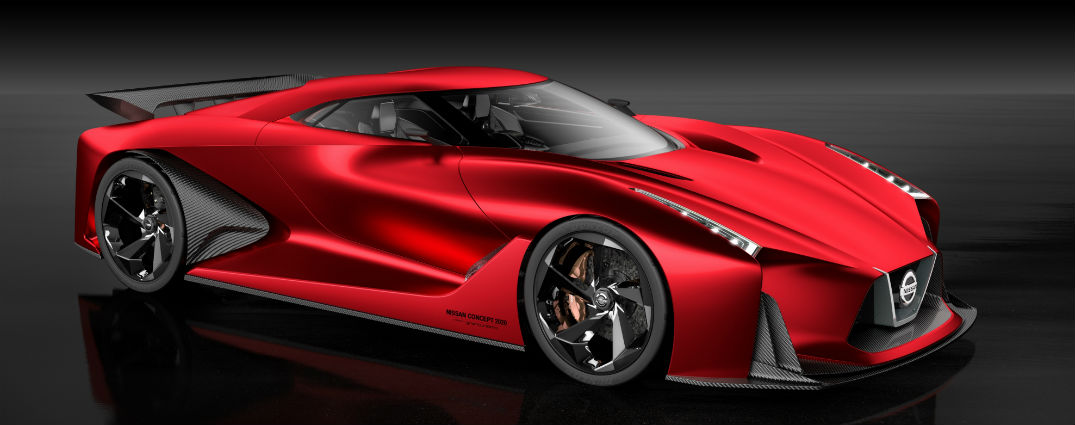 All about the Nissan Concept 2020 Vision Gran Turismo