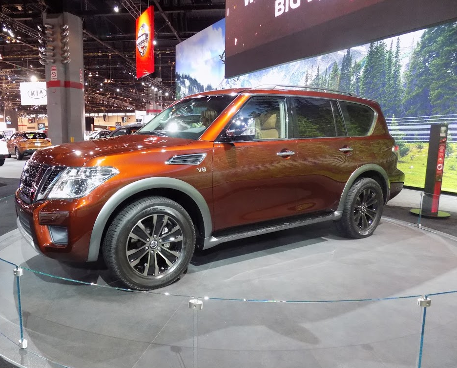 2017 Nissan Armada 2016 Debut Chicago Auto Show Release Date