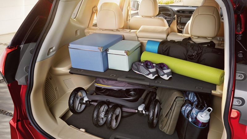 how much cargo space is there in the nissan rogue. Black Bedroom Furniture Sets. Home Design Ideas
