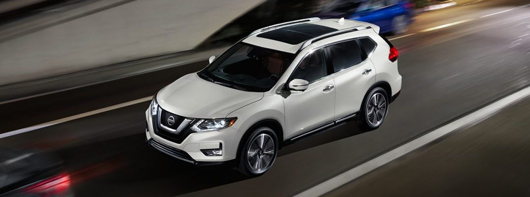 How much cargo space is there in the Nissan Rogue?