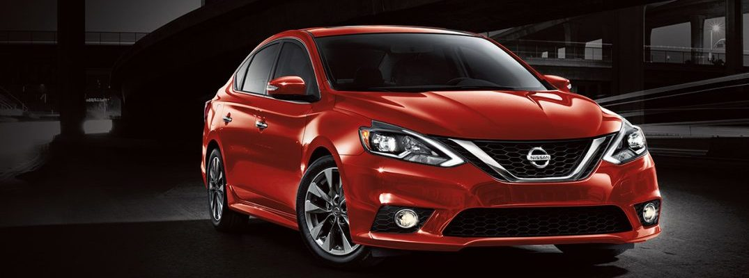 2017 nissan sentra red original