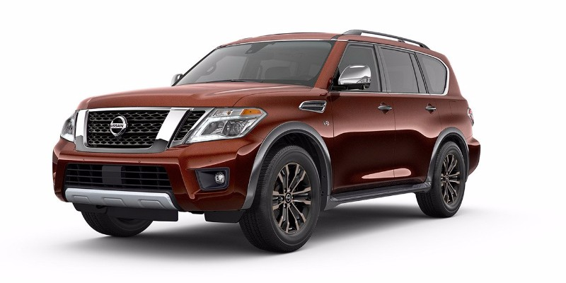 2018 Nissan Armada Forged Copper