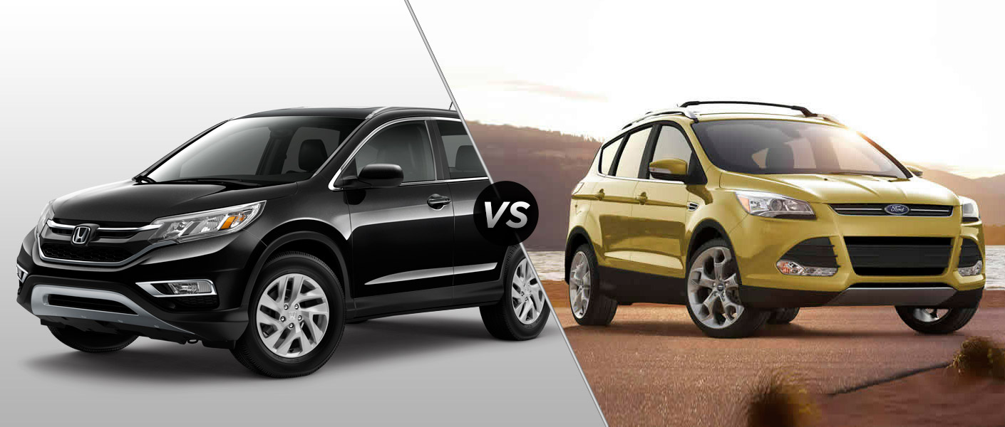 comparing the 2015 honda cr v and 2015 ford escape. Black Bedroom Furniture Sets. Home Design Ideas