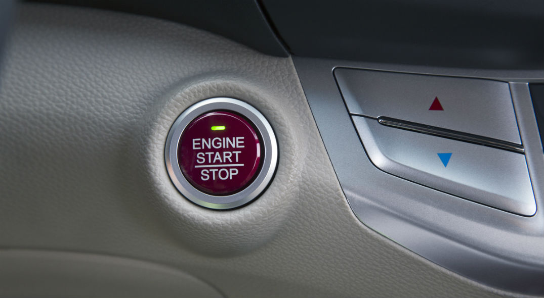 What is honda push button start for What does the econ button do in a honda civic