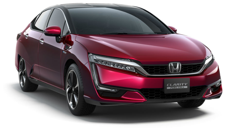Honda Clarity Hydrogen Fuel Cell Vehicle US Release Date