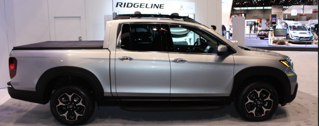 2017 Honda Ridgeline Accessories At The Chicago Auto Show