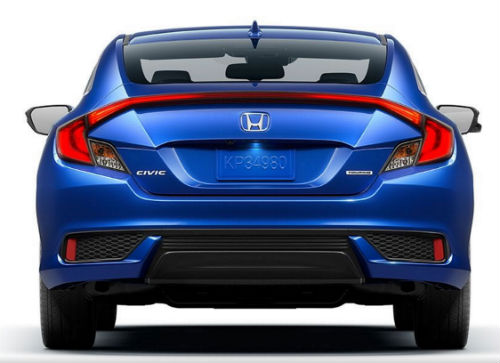 just released 2016 honda civic coupe price and photos. Black Bedroom Furniture Sets. Home Design Ideas