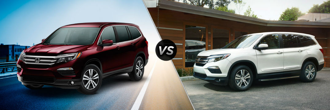 New color options for the 2016 Honda Pilot