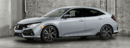 2017 honda civic hatchback specs