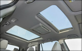 2017 pilot moonroof feature
