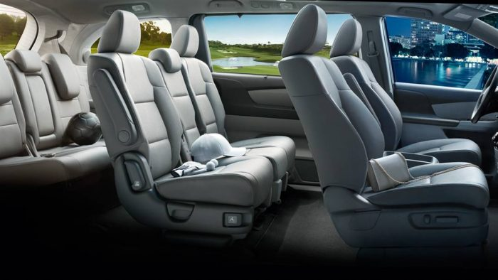 2017 Honda Odyssey Configurations >> How Many Passengers Does The Honda Odyssey Seat