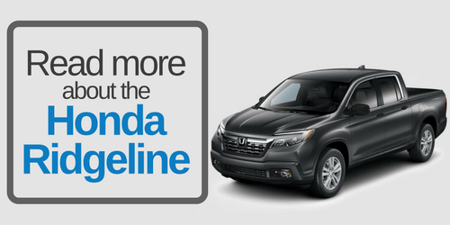 Read more about the Honda Ridgeline