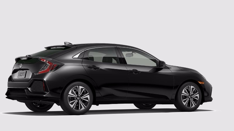 What colors does the new honda civic hatchback come in for All black honda civic