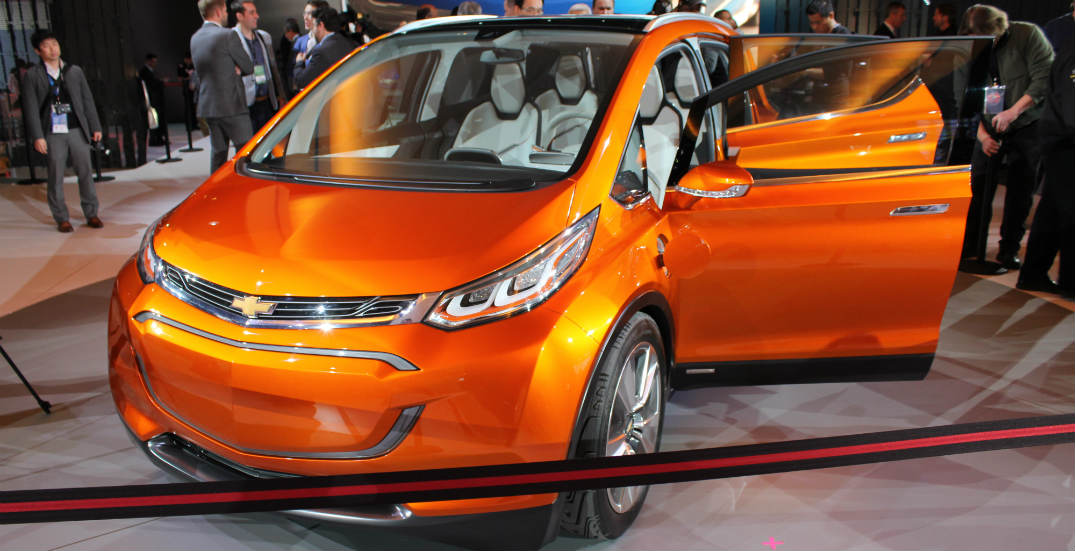 new Chevy electric car