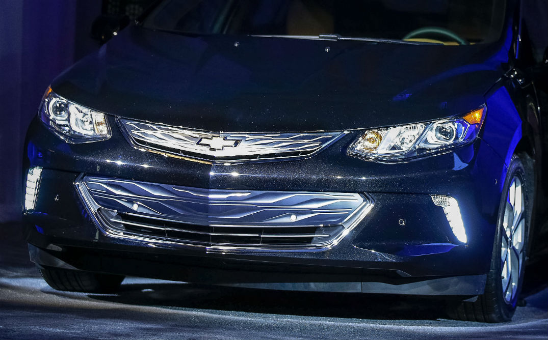 2016 Chevy Volt at CES