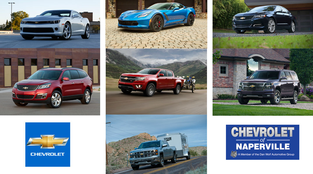 Most popular Chevy models