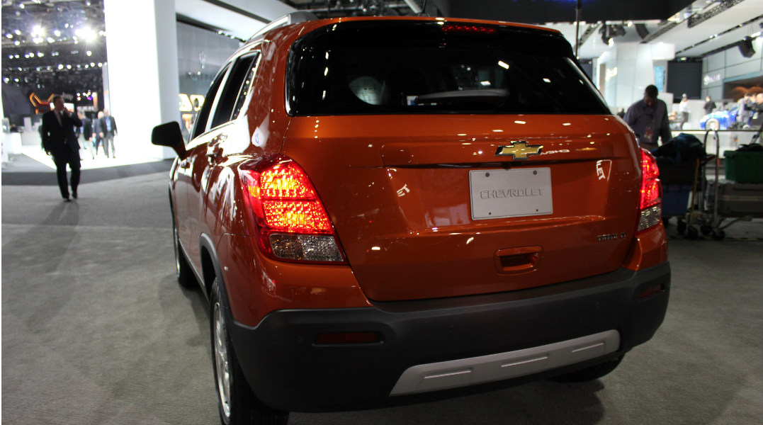 safety scores for the 2015 Chevy Trax