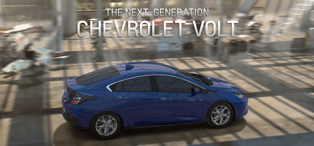 new 2016 Chevy Volt commercial