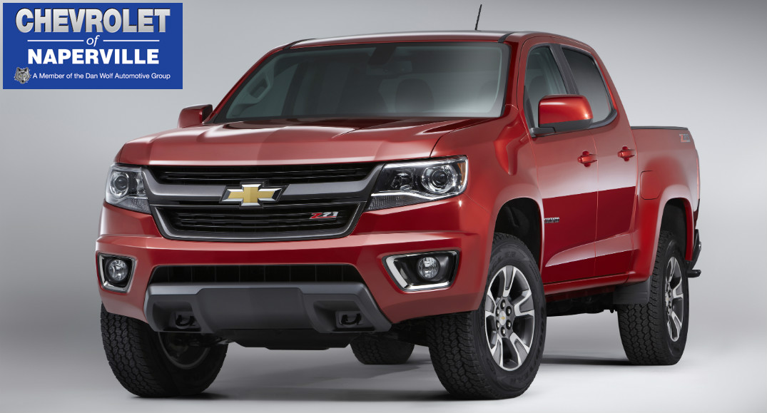 What is different about the 2016 Chevy Colorado