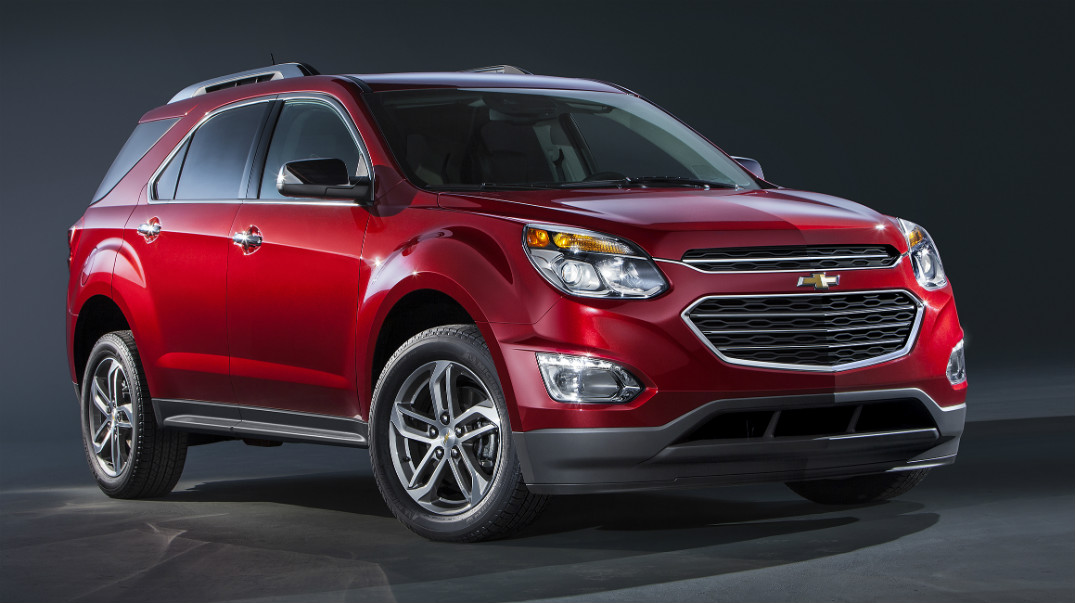 release date for the 2016 Chevy Equinox