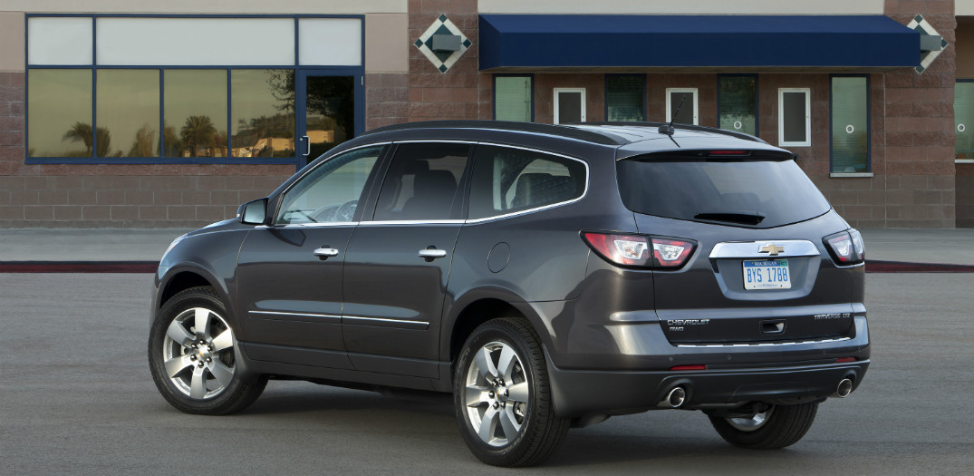 release date for the 2016 Chevy Traverse