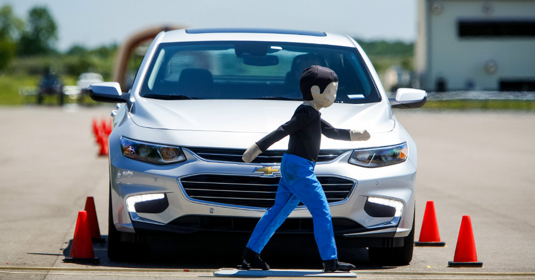 new Chevy Safety features