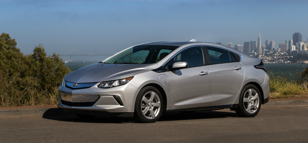 2016 Chevy Volt Green Car Award